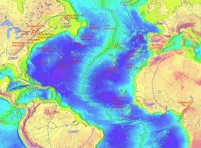 Atlantic rift صذع الارض
