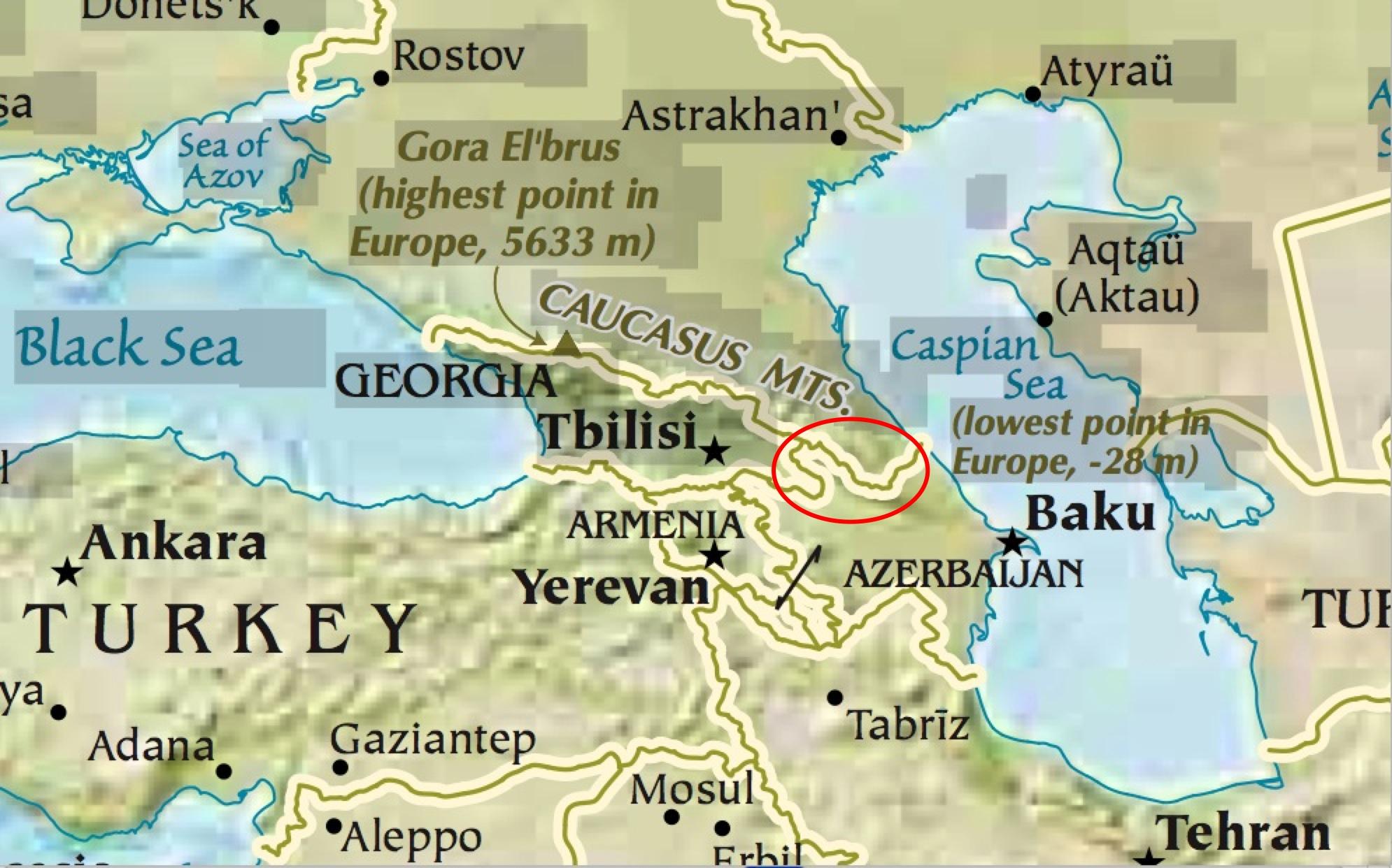 Gog Magog Map