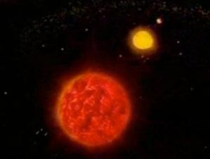 المهدي المنتظر والنجم الاحمر المذنب - النجم الطارق