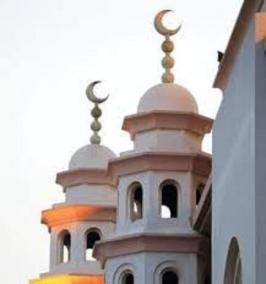 رمز الهلال لجموع المسلمين