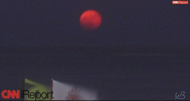 قمر الدم الاحمر يظهر غي سبنمبر ٢٠١٦