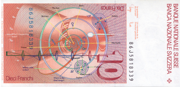 مدار الطارق علي النقود السويسريه