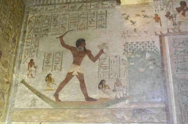 الملك سايمان والسمكتان والشيطان