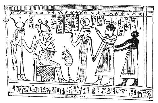 ابراهيم وساره والفرعون في مصر