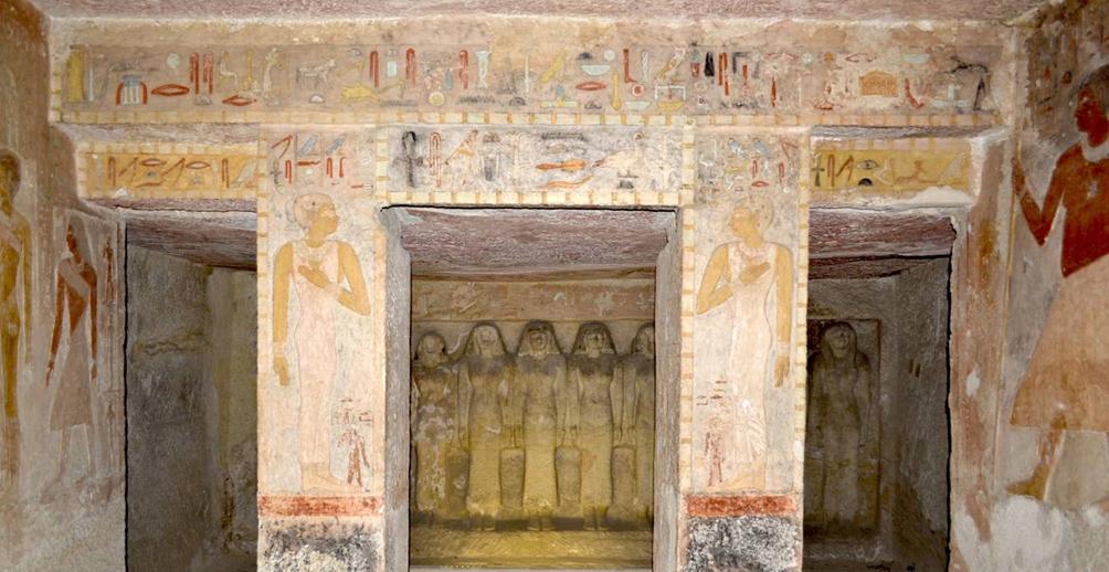 Fourth dynasty tomb in Giza