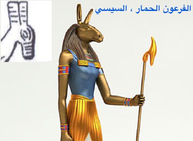 السيسي الفرعون الحمار