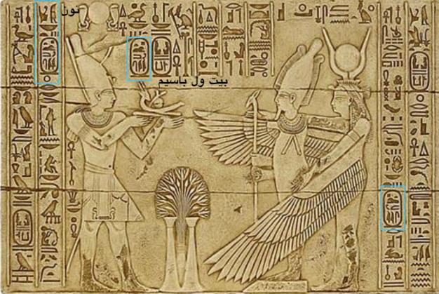 السيسي في معبد فيلا
